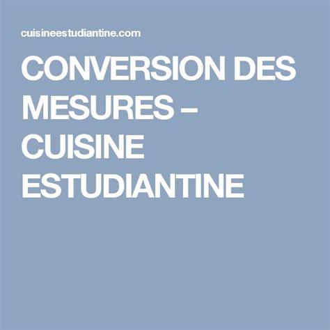 conversion cuisine 17 meilleures idées à propos de conversions de mesures de