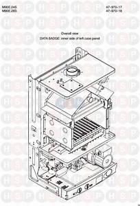 Biasi Riva Compact M90e 24s  Appliance Overview Diagram