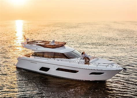 Ferretti Yachts Miami Boat Show by Luxury Speed Boats Pershing Yacht