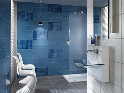 Badezimmer Fliesen Blau by 35 Large Blue Bathroom Tiles Ideas And Pictures