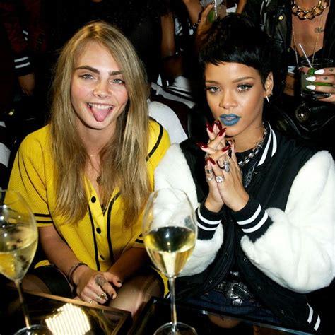 Rihanna And Cara Delevingne Party At River Island Launch