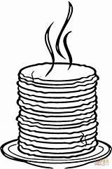 Colorear Pancake Dibujo Pancakes Dibujos Colorare Tortitas Coloring Disegni Tortillas Como Pila Tortilla Cupcake Supercoloring Stapelweise Pfannkuchen Disegno Dibujar Immagini sketch template