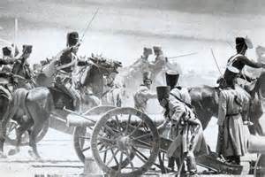 Cannons at the Charge of the Light Brigade