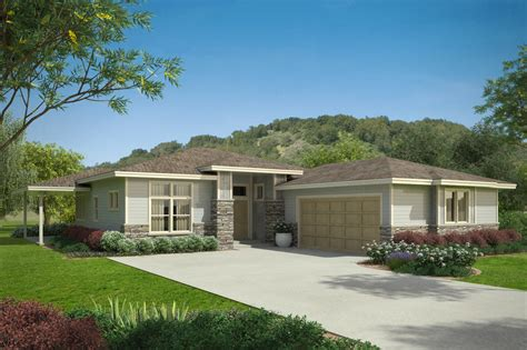 prarie style homes prairie style house plans arrowwood 31 051 associated