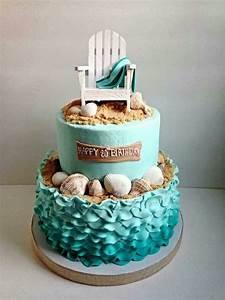 Best 25 Beach birthday cakes ideas on Pinterest Sand cake