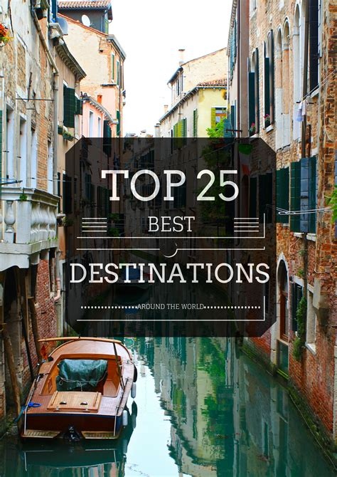 Best World The Top 25 Best Destinations In The World World Of