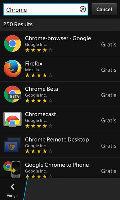 how to firefox and chrome blackberry