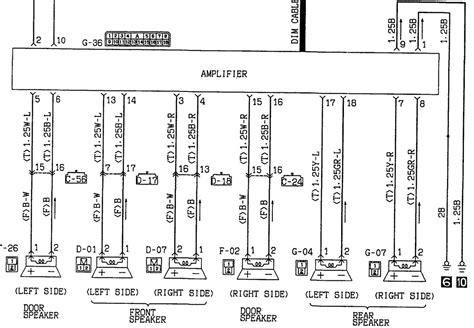 need wiring diagram mitsubishi diamante 93 for radio mute stereo original with lifier