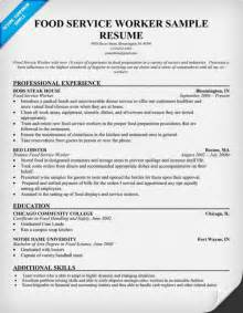 Food Service Resume No Experience by Cv For Bank Service Consultant With Zero Experience Resume Sles