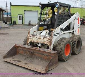1984 Bobcat 843 Skid Steer