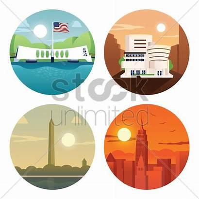 Landmarks Usa Stockunlimited Graphic