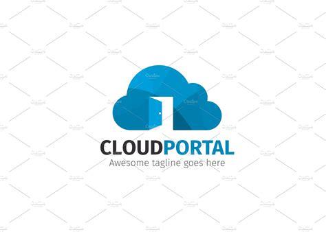 cloud portal logo logo templates creative market