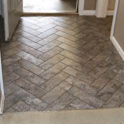 Stainmaster Groutable Vinyl Tile by Diy Herringbone Peel N Stick Tile Floor Grace Gumption