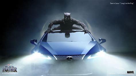 check  lexus black panther super bowl commercial