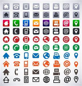 12 Symbol Free Vector Business Card Images - Free Contact ...