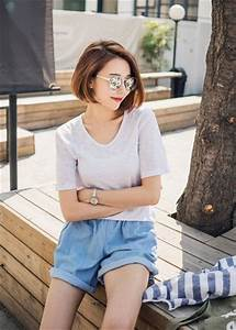 17 Best ideas about Ulzzang Short Hair on Pinterest | Ulzzang Korean short hair and Korean girl