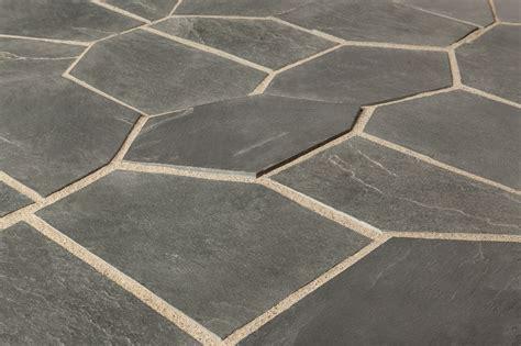 slate tile roterra slate tile meshed back patterns silver black flag stone pattern