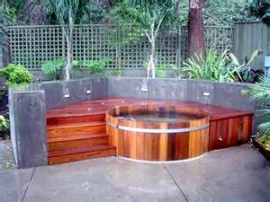 Hot Tub Garden Designs
