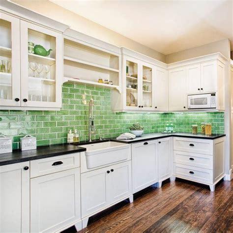 kitchen tiles green cozinha verde 3 decorarst 3328