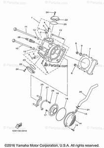 Yamaha Atv 2005 Oem Parts Diagram For Cylinder Head