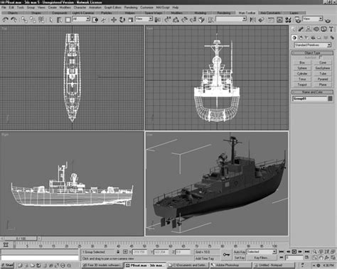 Military Boat Design 3d Software Applications, (.3ds) 3d