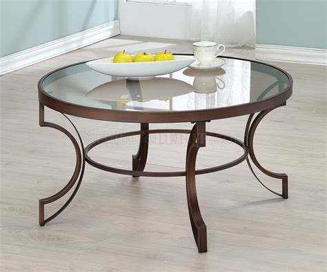 704458 Coffee Table 3pc Set By Coaster W/glass Top