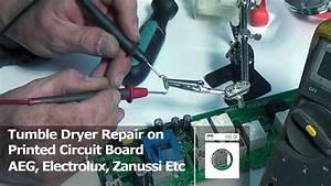 Printed Circuit Board Repairs For Tumble Dryers Aeg