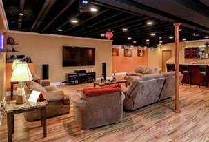 basement ceiling paint home design ideas