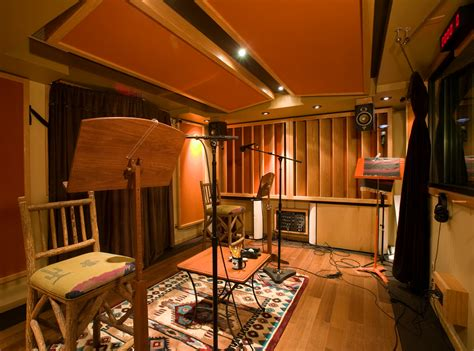 Small Apartment Zinging With Color by Large Recording Booth For Multi Mic Sessions Rr