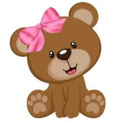 Honey Bear Nursery by Cute Baby Brown Bear With Pink Bow