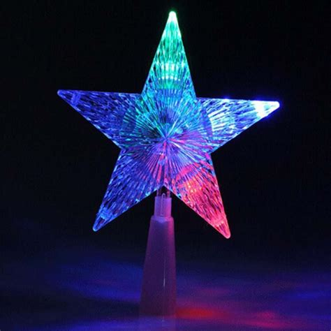 star christmas tree lights high end indoor outdoor tree topper light l decoration ad ebay