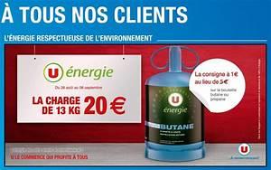 Prix Bouteille De Gaz Butane 13 Kg Intermarché : bon plan bouteille de gaz propane butane chez u ~ Dailycaller-alerts.com Idées de Décoration