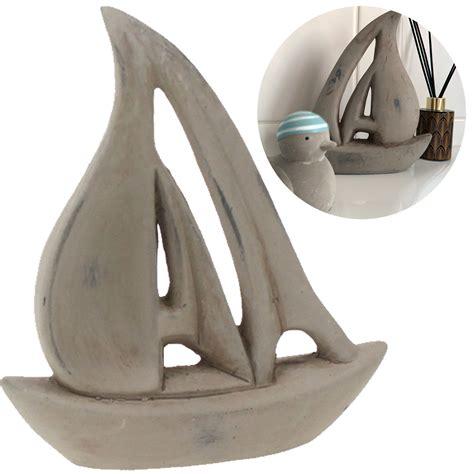 Kinderzimmer Deko Segel by Deko Segel Schiff Segel Boot Keramik 17cm Grau Maritim Bad