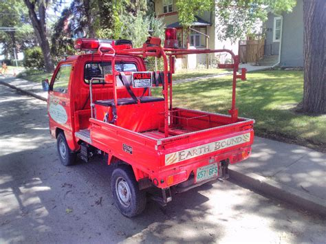 1990 Suzuki Mini Truck Fire Engine (street Legal Atv