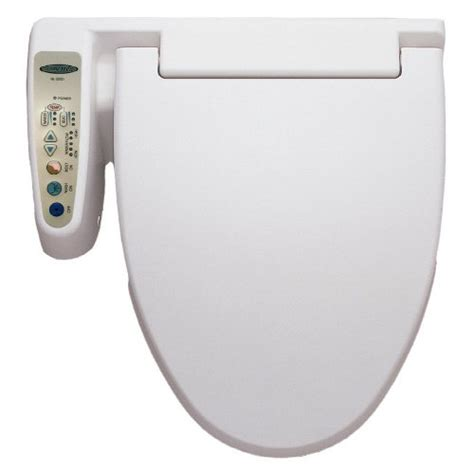 best reviews of hometech bidet toilet seat with warm water white special price
