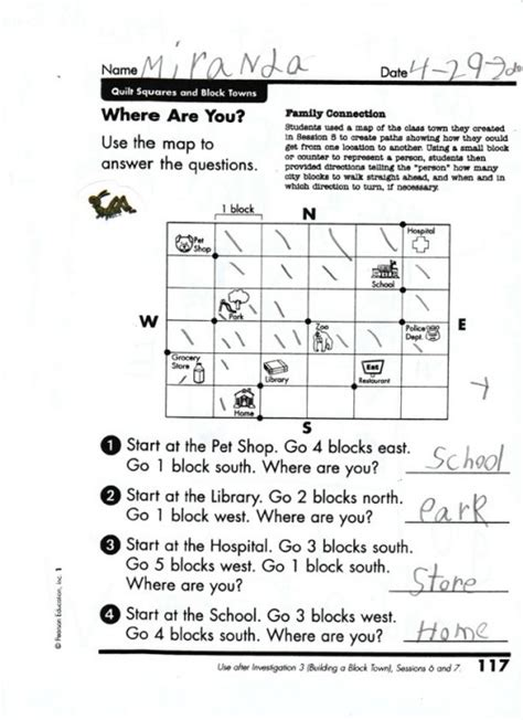 students create their own mapquest map skills