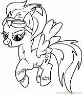 Pony Coloring Little Pages Misty Fly Drawing Colouring Horse Pie Pinkie Ddlg Magic Friendship Burning Wood Templates Coloringpages101 Drawings Unicorn sketch template