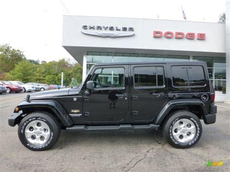 jeep sahara black black 2013 jeep wrangler unlimited sahara 4x4 exterior