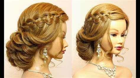 Wedding Prom Hairstyles For Long Hair Tutorial. Bridal