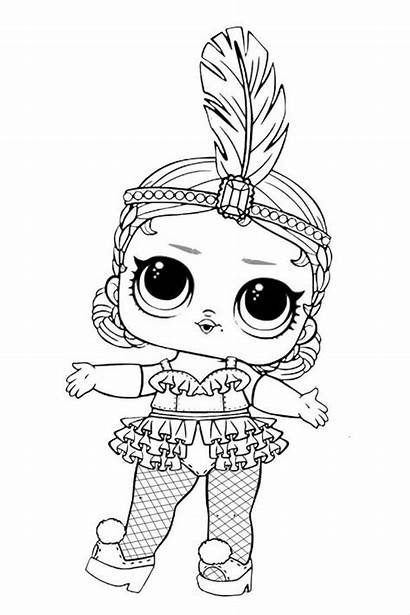 Lol Coloring Pages Surprise Doll Dolls Series