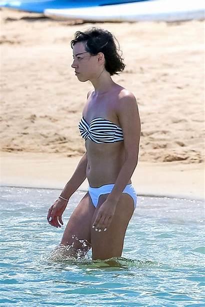 Aubrey Plaza Bikini Beach Hawaii Anna Kendrick