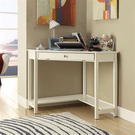 white corner desk homelegance corner desk white at hayneedle