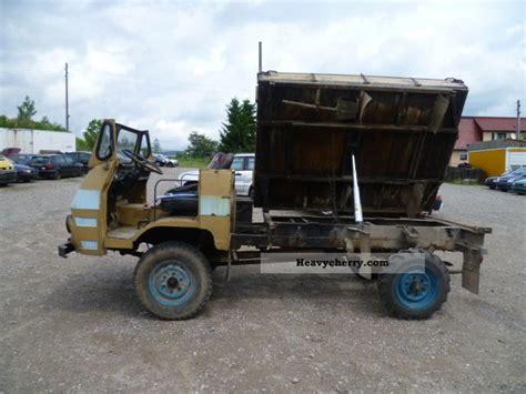 homemade 4x4 truck robur diy 4x4 tipper 1985 tipper truck photo and specs