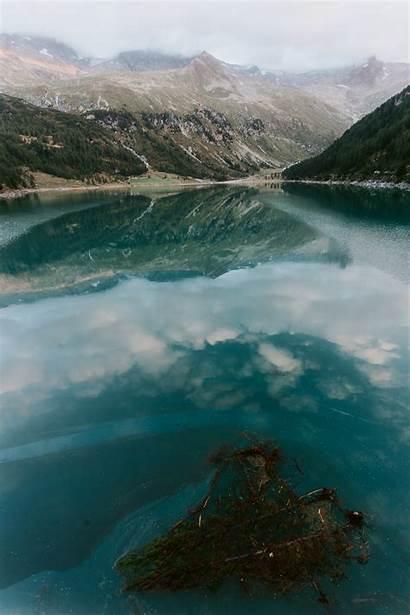 Berg Water Danau Mountain Mobile Desktop Warna
