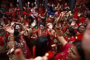 Teej Festival Teej Festival Celebration In Nepal Teej