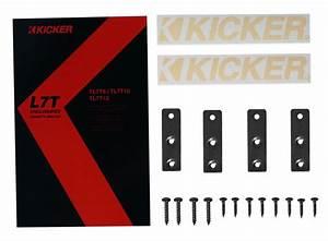 Kicker 46tl7t104 L7t 10 U0026quot  500w Car Subwoofer Solo