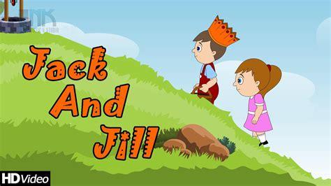 Top 50 Hit Nursery Rhymes by Image Gallery Jack And Jill Cartoon