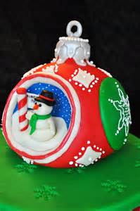 life s sweet occasions christmas ornament cake