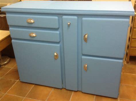 restaurer cuisine buffet de cuisine bleu et jaune la factory de julie