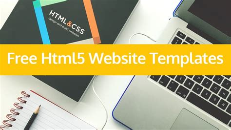 Free Website Templates Html5 Free Html5 Website Templates For Downloads 2017